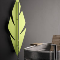 Feather radiator green