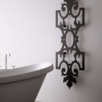 Romanov radiator black